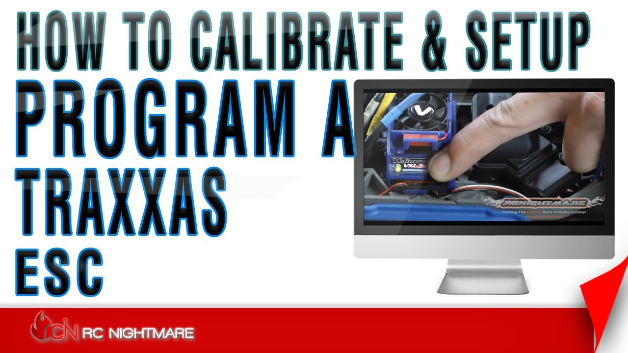 maxresdefault program a traxxas esc calibrate & setup how to youtube traxxas evx 2 wiring diagram at n-0.co