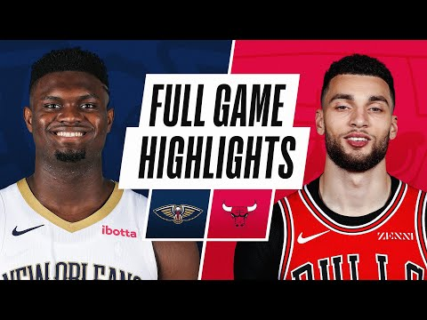 PELICANS at BULLS | FULL GAME HIGHLIGHTS | February 10, 2021