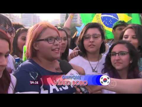 140610 • Mais Você at Music Bank Brasil (MBLAQ appearance)