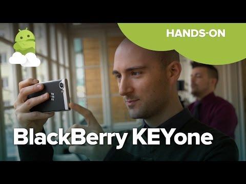 Blackberry KEYone Hands On — The Mercury Is Here!
