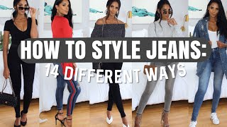 How To Style Jeans: 14 DIFFERENT WAYS