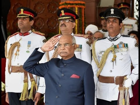 President Ram Nath Kovind pays floral tribute to martyrs