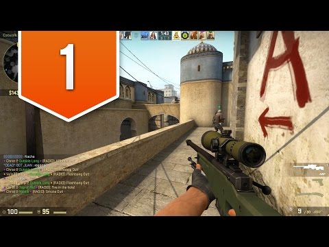 CS:GO - Road to Global Elite - Live Competitive Gameplay #1 - AWESOME FIRST MATCH!