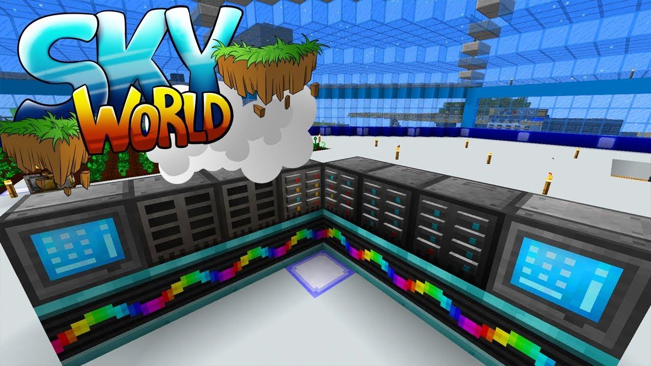 скайворлд майнкрафт сайт #9
