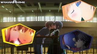 ADORABLE KISSES IN ANIME | Anime Kissing Scenes