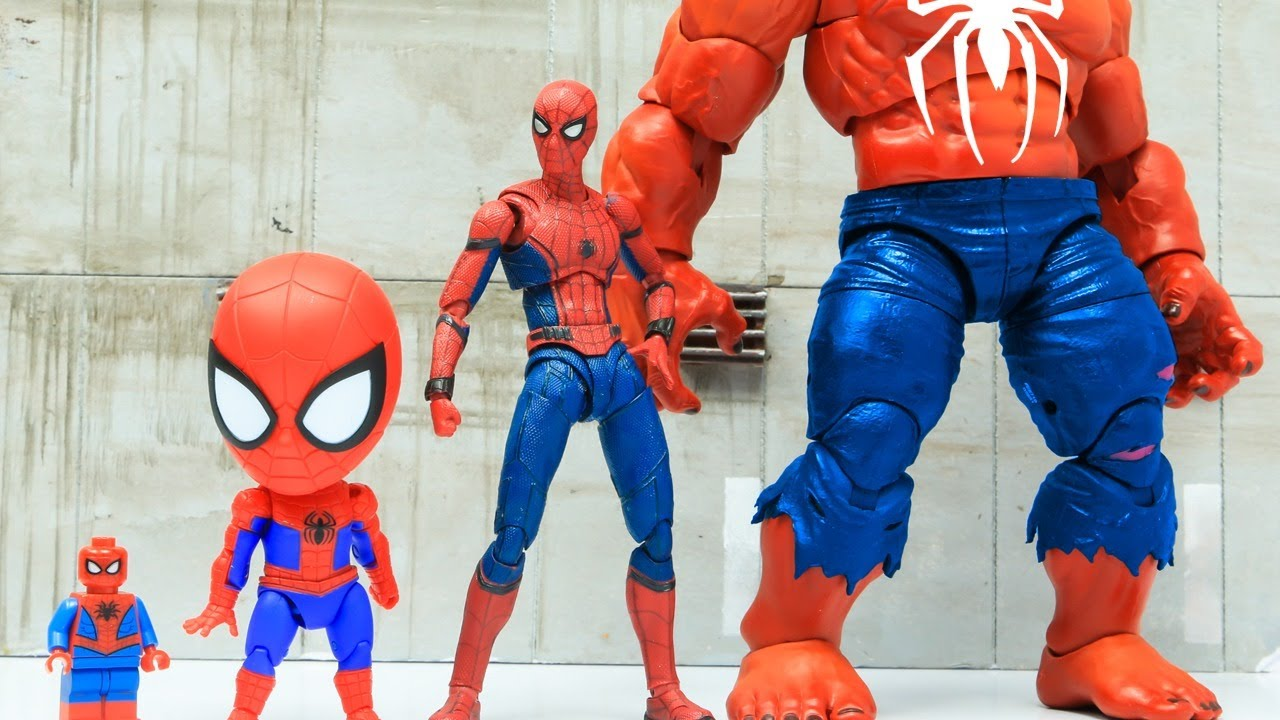 Download Spider-Man Vs Iron Man Top 10 Action Scene In The Spider-Verse Figure Stopmotion