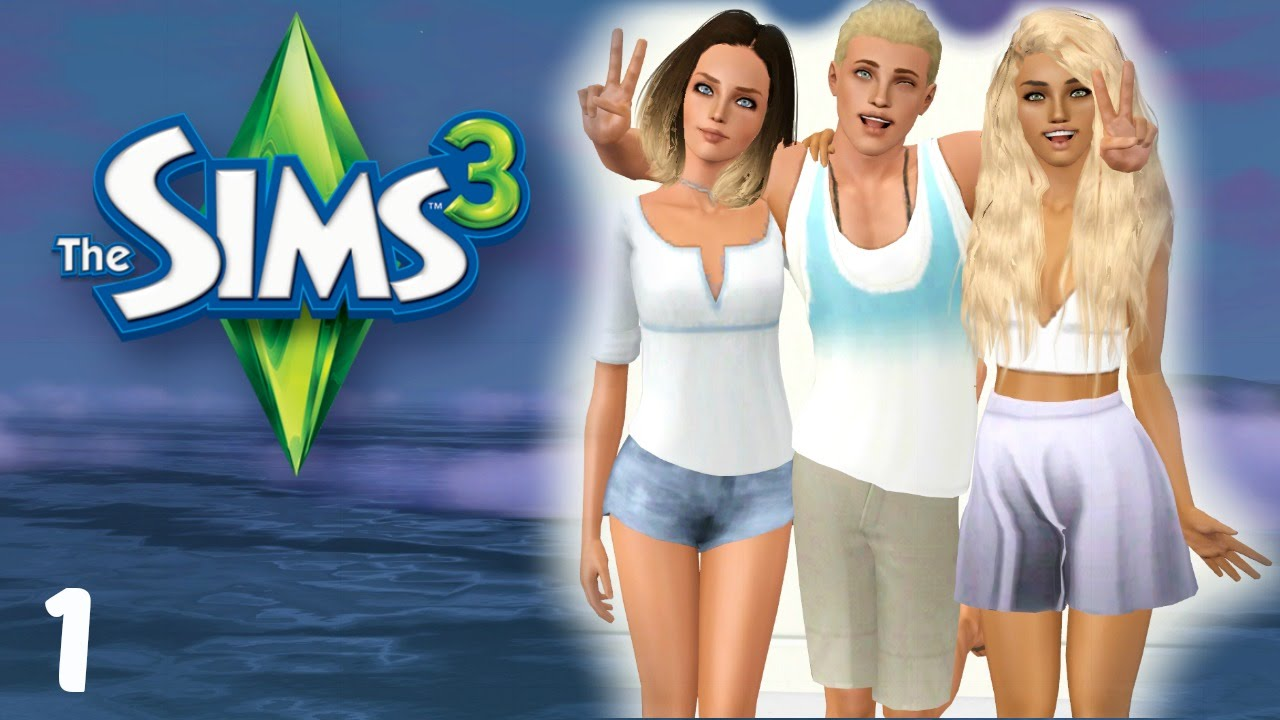 Let 39 s play sims 3 part 1 youtube for Schaukelstuhl sims 3