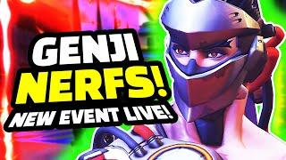 Overwatch - Genji NERFS Coming and Moira Changes! + New Maestro Skin Event!