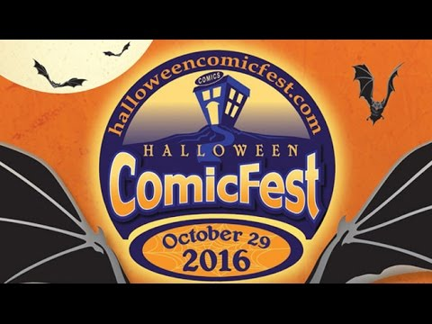 unboxing halloween comicfest 2016 see all the free comics here