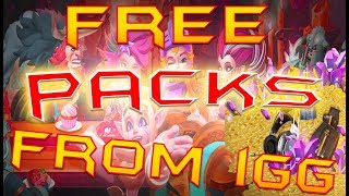 IGG GAVE ME PACKS - LORDS MOBILE