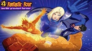 Marvel ' s die Meisten ÜBERSEHEN Cartoon!!! - Fantastic Four: World ' s Greatest Heroes Abgeben