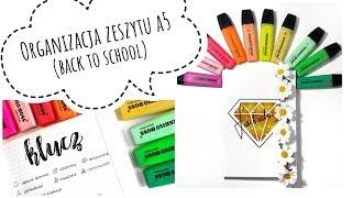 JAK PROWADZIĆ PIĘKNY ZESZYT A5 Organizacja lifehacki triki Back to School