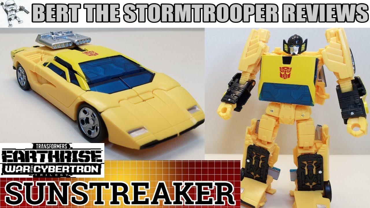 Transformers Earthrise Sunstreaker Review by Bert the Stormtrooper!