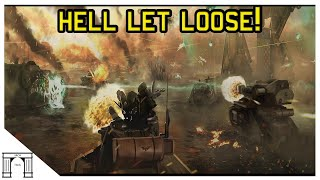 40k Lore, The Siege of Vraks! A Rip in Reality!