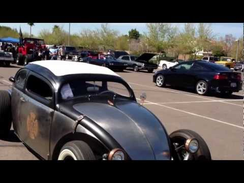 "1963 Volkswagen Beetle, Kafer, Bug. Chopped Rat Rod ""The VolksRod"""
