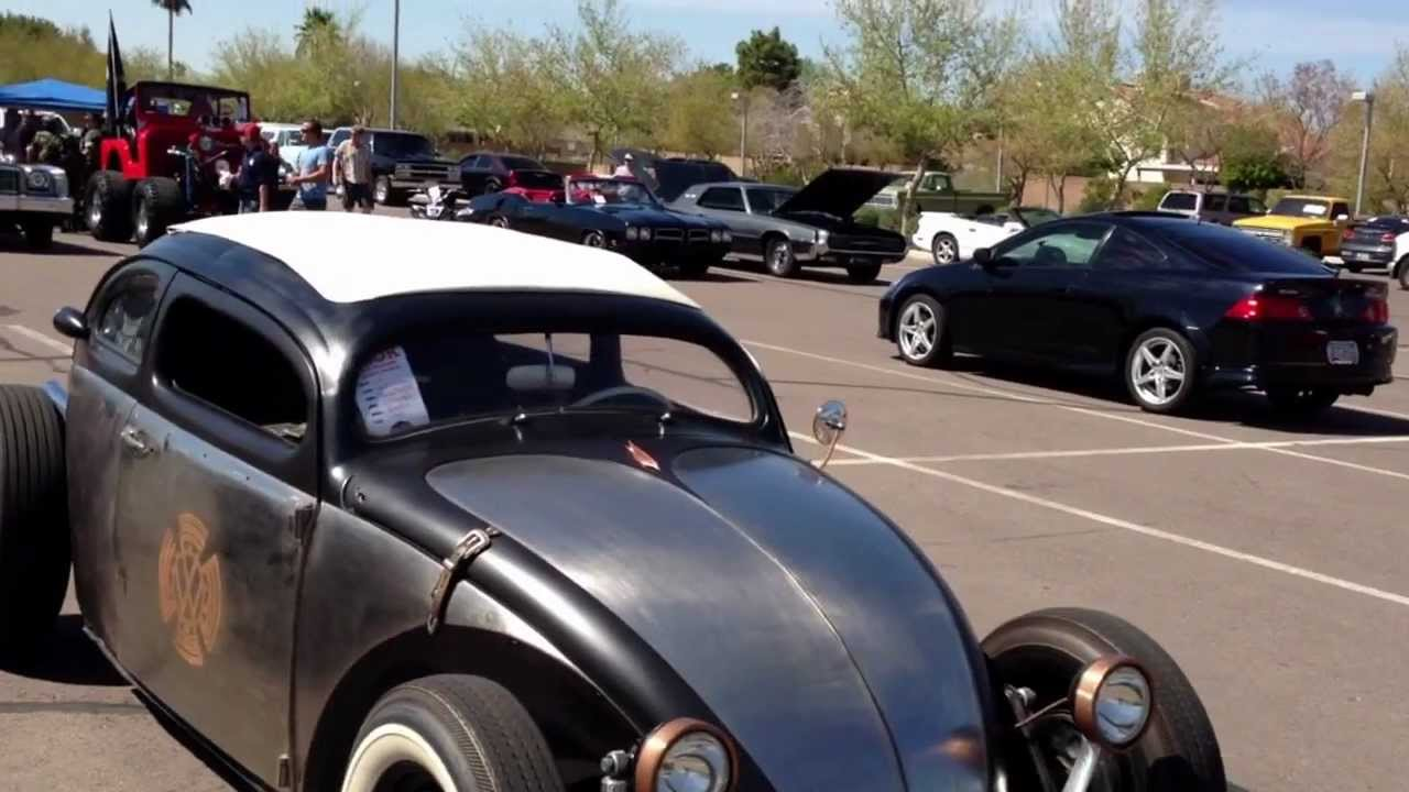 "1963 Volkswagen Beetle, Kafer, Bug. Chopped Rat Rod ""The VolksRod"" - YouTube"