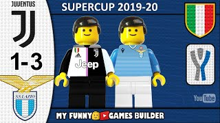 Italian Super Cup • Juventus Lazio 1-3 🏆 LEGO Supercoppa Italiana 19/20 • All Goal Highlights