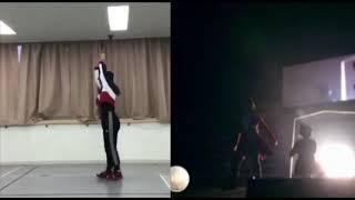 【10クローネとパン】NMB48 石田優美 山本彩 Ver.(ダンス比較)