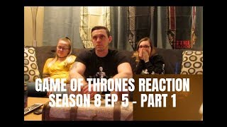 Download GAME OF THRONES SEASON 8 EP 5 REACTION - PART 1 Mp3 and Videos