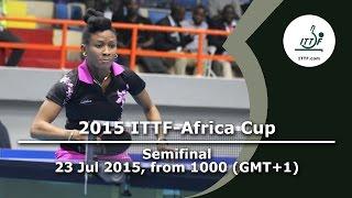 2015 ITTF-Africa Cup - Semi Finals