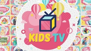Kids Tv - Broadcast / Social Channel Design After Effects template