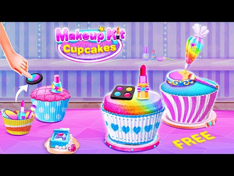 Makeup Kit Cupcake Maker Girls Maquillaje Games Apps On Google Play