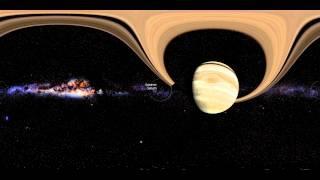 A través del sistema solar en Realidad Virtual (360°)