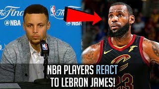 NBA Players REACT To LeBron James' 8th STRAIGHT FINALS!