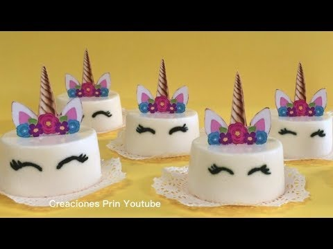 Gelatinas de unicornio con queso crema youtube - Moldes para gelatina ...