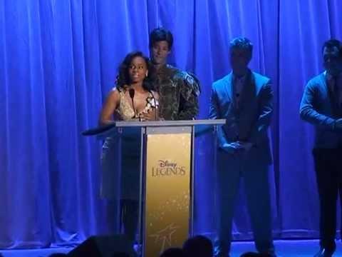 2011 Disney Legend Ceremony - Intro and Disney Princess Voices