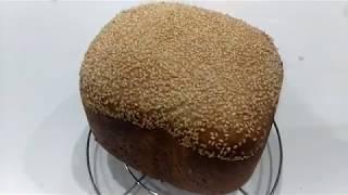 Хлеб на закваске в хлебопечке / Хлеб для сэндвичей / Хлеб на закваске Левито Мадре