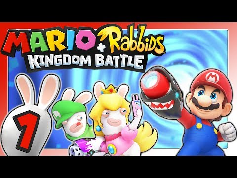 "Abgedrehtes ""Super Mario"" & ""Raving Rabbids"" Crossover! 🐰 MARIO + RABBIDS KINGDOM BATTLE Part 1"