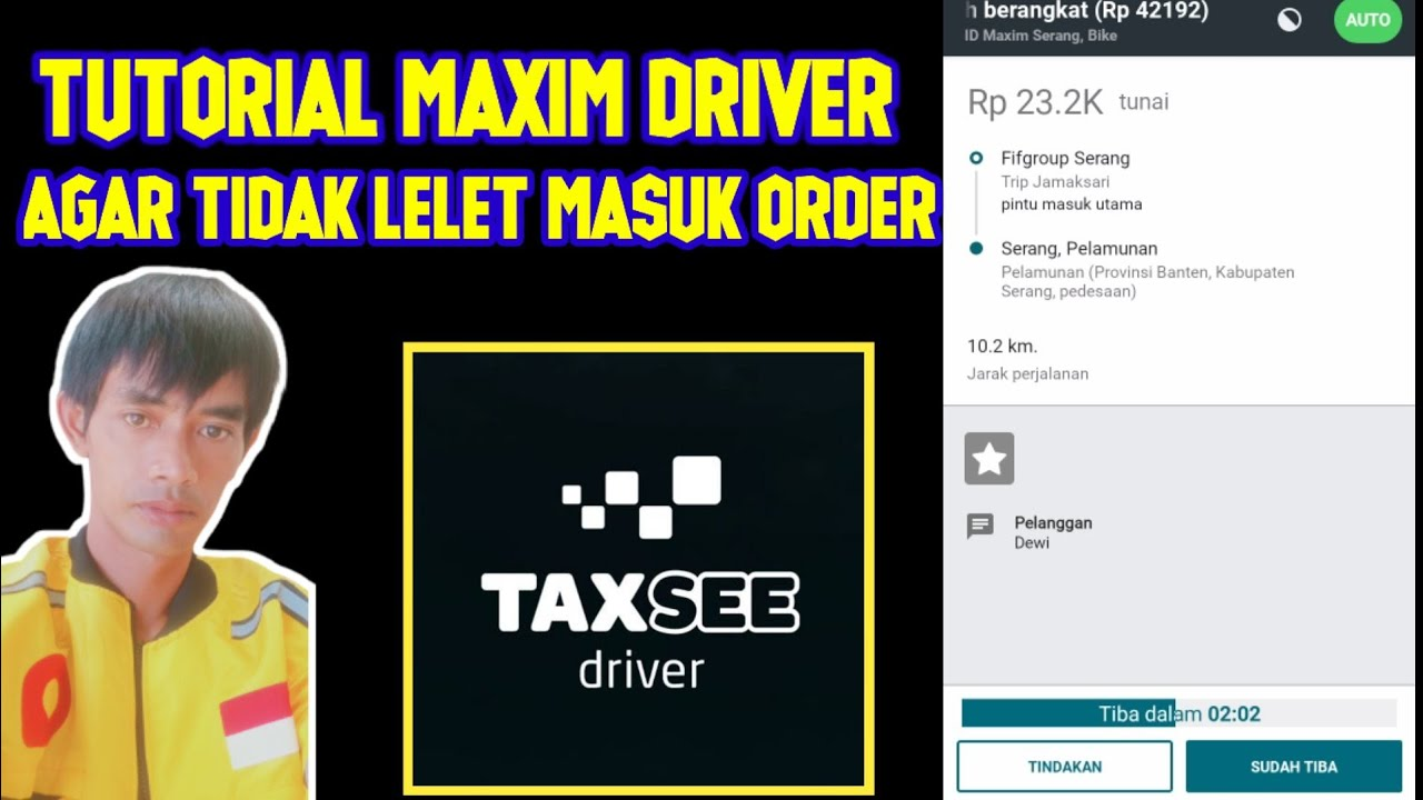 Cara Menambah Rating Maxim Driver Youtube