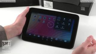 видео Обзор планшета Samsung Google Nexus 10