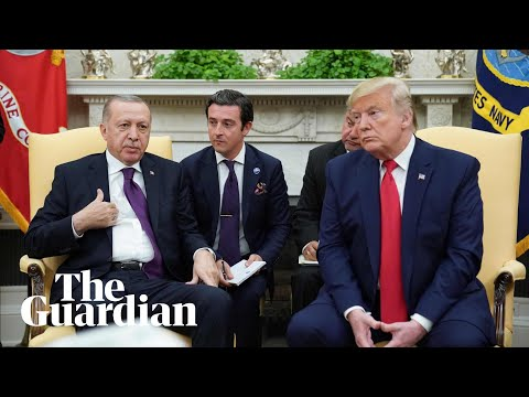 Trump and Erdoğan hold news conference at White House – watch live