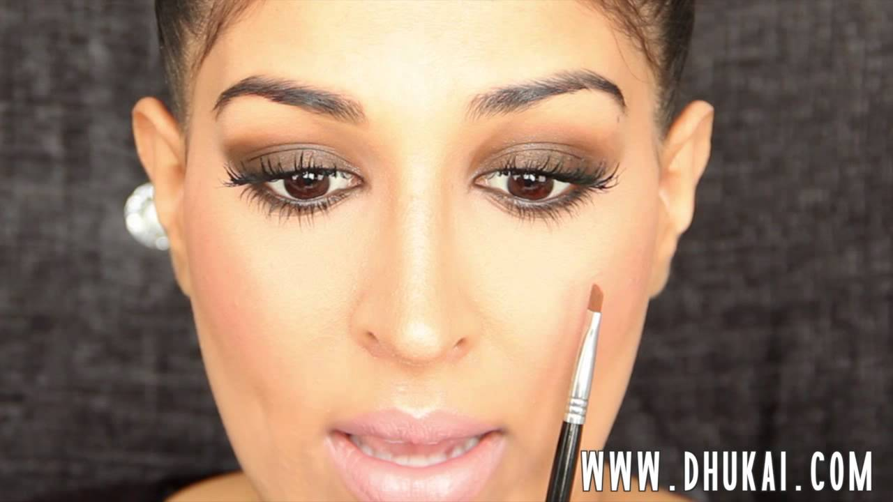 How to Lighten Your Eyebrows with Makeup - YouTube
