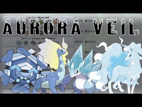 Lets Talk! Aurora Veil! Pokemon Sun and Moon w/ PokeaimMD