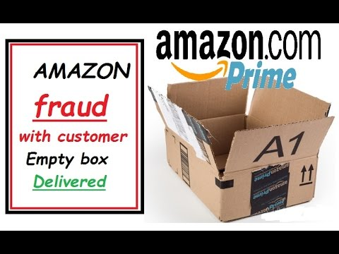 Amazon fraud with customer empty box delivered youtube amazon fraud with customer empty box delivered sciox Gallery
