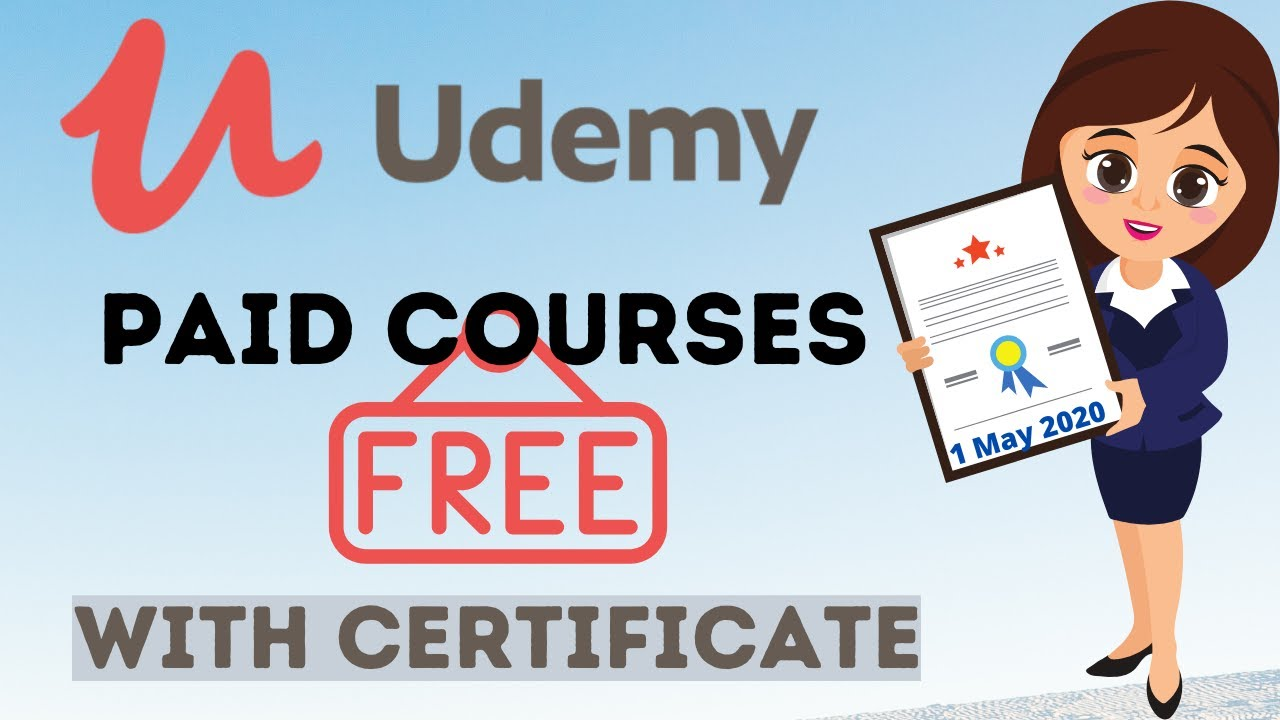 get udemy paid courses for free