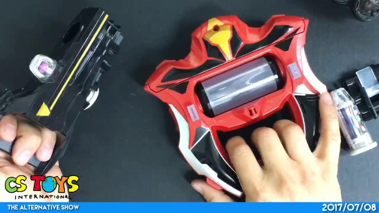Ultraman Geed Dx Geed Riser Ultra Capsule Shining Ultraman Zero