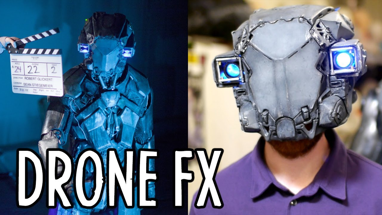 Building the Robot Suit from  DRONE  (Behind the Scenes)  Indy News - YouTube & Building the Robot Suit from