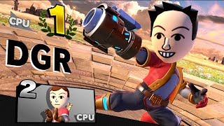 Nintendo YouTuber Mii Fighter CPU Tournament