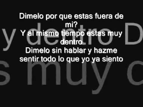 Enrique Iglesias ''Dimelo'' With Lyrics