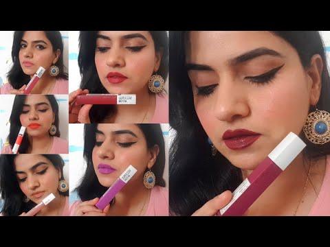 Top 6 Liquid Lipstick Shades For Every Skin Tone II Maybelline Superstay Ink II Makeup Shakeup II