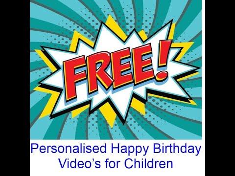 Happy Birthday Olivia (another video)