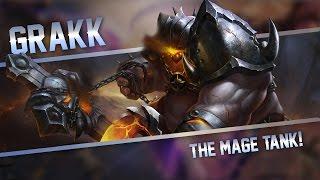 Strike of Kings: THE MAGE TANK!! Grakk [MA/TANK] Gameplay