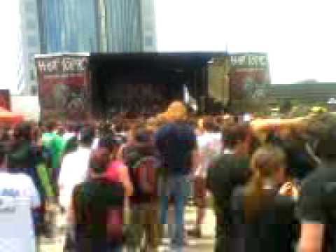 Entering Mayhem!! Rockstar Energy Drink Mayhem Festival 2009 Denver Colorado (White CHapel)