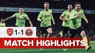 Arsenal 1-1 Sheffield United | Premier League Highlights