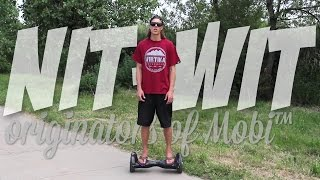 Nit-Wit.com shows you how to ride a Mobi (mini Segway self balancing 2-wheel scooter)(Watch this video for a few tips before riding Mobi for the first time. See nit-wit.com for details., 2015-07-04T03:48:07.000Z)