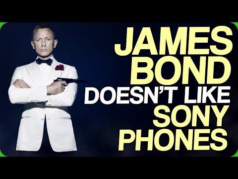 James Bond Doesn't Like Sony Phones
